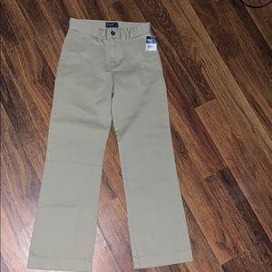 Gold Polo Ralph Lauren Khaki Pants size 8